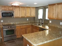 Backsplash Maple Cabinets Quartz Countertops Kitchen Colors With Maple Cabinets Lighting