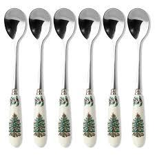 spode tree tea spoons set of 6 spode uk