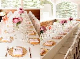 decorations for engagement party at home use paper doilies in place of chargers or placemats in gold to