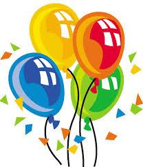 birthday balloons for men for men 50th birthday clipart