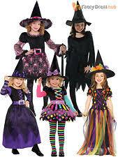 Girls Witch Halloween Costume Girls Witch Costume Ebay