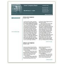 doc 770477 newsletter templates free word u2013 free sample