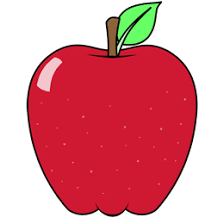 cartoon apple step by step drawing lesson