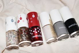 my sugarcoffee review christmas set innisfree eco nail color pro