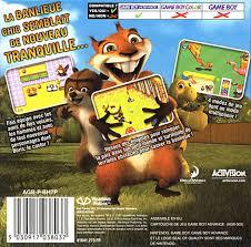 hedge hammy nuts box shot game boy advance