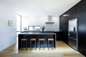 black kitchen cabinets nz black plywood kitchen contract cutting cutshop nz
