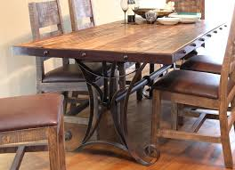 White Distressed Dining Room Table Distressed Dining Room Set Photogiraffe Me