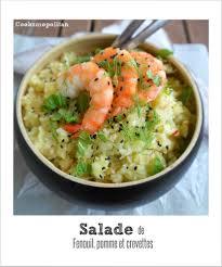 comment cuisiner le fenouil salade de fenouil pomme et crevettes express au thermomix