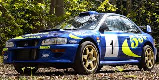 subaru rally car late rally hero colin mcrae u0027s subaru impreza rally car sells for