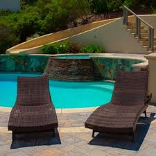 Poolside Chaise Lounge Outdoor Lounge Chairs