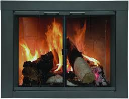 Diamond Fireplace Glass Fireplace Doors