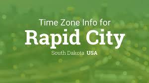 Time Zone Map South Dakota by Daylight Saving Time Dates For Usa U2013 South Dakota U2013 Rapid City