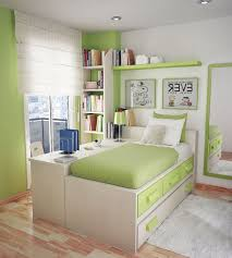 Bedroom Dazzling Green Cushions And Curtain Fabulous Decorating
