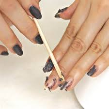 remove gel polish with the painted nail u0027s steam off technique