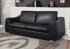canapé simili cuir noir canapé convertible simili cuir meilleur de canapã convertible 3