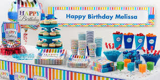 birthday party supplies rainbow chevron party supplies chevron birthday party
