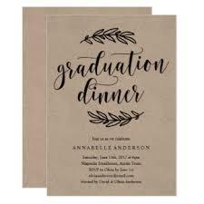 graduation lunch invitation wording graduation dinner invitations announcements zazzle