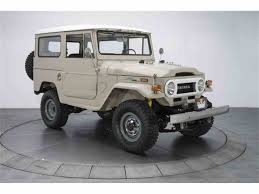 land cruiser fj40 1971 toyota land cruiser fj40 for sale classiccars com cc 1046627