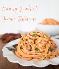 Table For Two by Cheesecake Factory Copycat Creamy Sundried Tomato Fettuccine