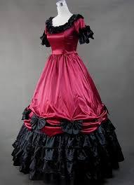 gothic victorian dress red naf dresses