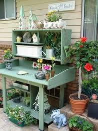 Garden Potting Bench Ideas 25 Cool Diy Garden Potting Table Ideas Potting Tables Reuse And