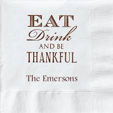 personalized 3 ply napkins with monogram two