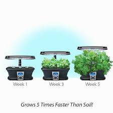 ultra led kitchen herb garden captions and dimension miracle gro