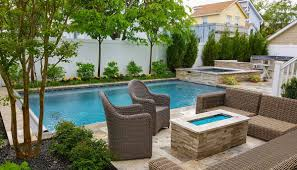 Long Island Patio Long Island Landscape Design Design U0026 Build Landscape Nassau