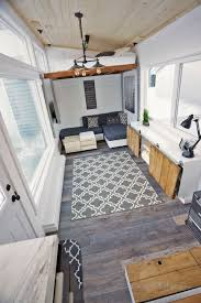 Four Lights Tiny House Open Concept Rustic Modern Tiny House Photo Tour And Sources Ana