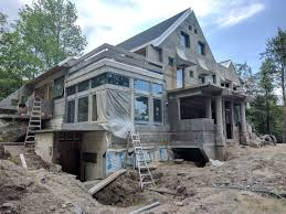 building a home in vermont in warren renowned vermont architect designs concrete house