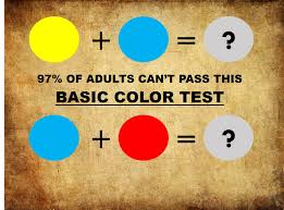 97 of adults cannot pass this simple kids color test can you