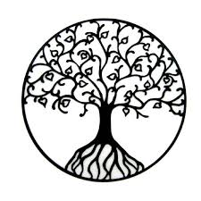 black and white tree tattoos clipart free best black
