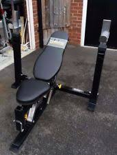 Everlast Olympic Weight Bench Bench Squat Rack Ebay