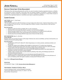 Examples Of Resumes For Retail by Store Manager Resume Retail Operations And Sales Manager Resume