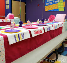 kate u0027s polka dot pajama birthday party all things g u0026d