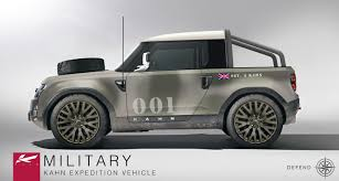 defender land rover 2016 project kahn recreates land rover u0027s frankfurt bound defender dc100