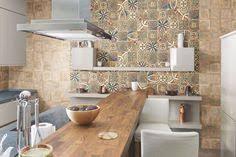credence cuisine blanc laqué crédence cuisine en carreaux de ciment patchwork gris par