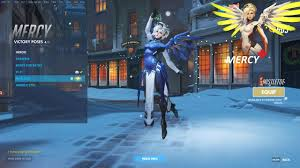 buying christmas theme for mercy overwatch youtube