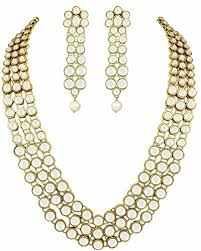necklace set image images Buy shining diva gold plated traditional jewellery kundan pearl jpg