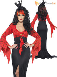 Halloween Costumes Evil Queen Smiffys Womens Halloween Evil Queen Ladies Fancy Dress Party