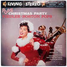 arthur fiedler the boston pops orchestra pops christmas party