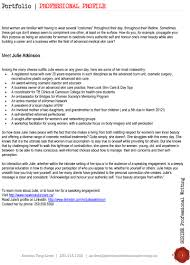 Resume Profile Sample Professional Profile Resume Sample Free Resume Example And