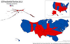Usa Map By State by Us Presidential Election Results Views Of The World