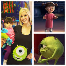 boo and mike from monsters inc halloween costume pregnancy