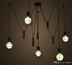 Hanging Edison Bulb Chandelier Discount Loft Pendant Light Vintage Nordic Loft Edison Bulb