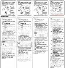 How To Reprogram Genie Garage Door Keypad by Genie Garage Door Opener Manual H6000a Wageuzi
