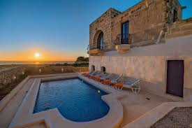 Pool Home Gozo Holiday Villas Farmhouse Apartment Rentals Malta Baron