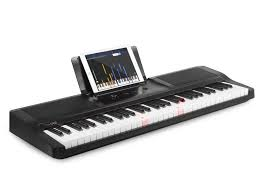 piano keyboard with light up keys review the one smart piano light keyboard geekdad