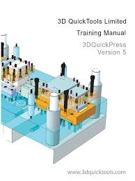 3dquickpress v5 2 1 training manual computing technology