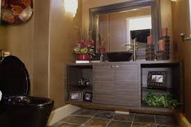 Elegant Powder Room Bathroom 01 Westview Design